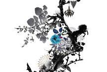 Imagine | Part III / Esta vez centramos nuestra atención en el centro del diseño debido a la aparición del unicornio negro representando nobleza, pureza, a la vez que independencia. Las lámparas colgantes se muestran en la parte derecha atribuyéndole todo el protagonismo del diseño al solitario unicornio.
