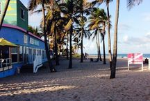 Lauderdale By The Sea / Just north of Fort Lauderdale, Florida sits a quaint beach town called Lauderdale by the Sea, a favorite tourist spot destination and popular with snorkelers and scuba divers exploring the nearby reef.