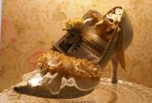 Altered Vintage Shoes