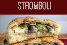Stromboli-cheese steak