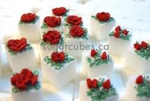 Floral Sugar Cubes