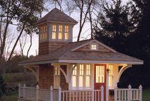 Backyard Oasis, She Sheds, Mini Houses / by Running Smart
