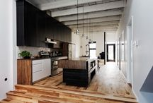 Contemporary rustic interior inspiration