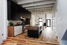 Contemporary rustic interior inspiration