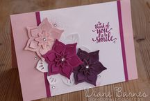 Friendship, Love & Encouragement Cards / Find inspiration for showing love,encouraging or simply telling a friend that you are thinking of them with these projects created with Stampin' Up! products. Card making and inspiration posted daily http://crackedpotstamper.com