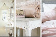 wit met roze interieur