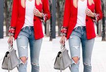 Moda vermelho