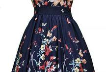 Цветочные платья