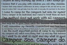 Camp bathroom Inspiration/Reading