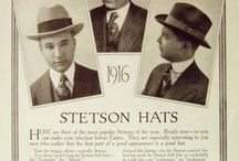 Stetson Vintage Ads / Here you can find some original, rare and old ads from earlier days of Stetson history.