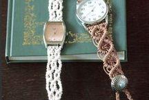 Μακραμέ ρολόι