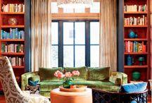 Green sofas / by Monica Diaz
