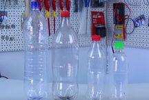 garrafas pets / fabricar com pets