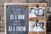 Mother's Day / All things Mother's Day. Crafts, gifts, printables, and planning a delicious meal to celebrate mom.