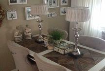 Riviera Maison♡ dining tables & chairs♡ / Ideeën en inspiratie, verschillende eettafels