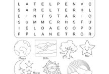Print-outs for kids