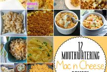 Mac & cheese / Different recipes for one dish / by Amy Wolfe