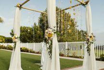 Wedding arbors & backdrops