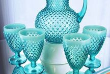 Aqua/Cobalt/Turquoise / by Michele Spencer