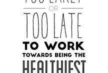 Healthier Living / Female health & general healthy living tips!