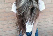 Hairstyles and nail ideas