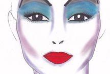 Ursula Halloween Makeup / by Naomi Cohen