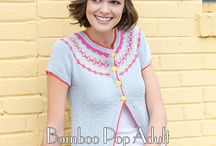 Bamboo Pop Adult / Universal Yarn E-Book Bamboo Pop Adult collects 10 garment and accessory patterns to knit and crochet.