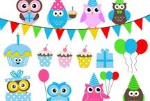 Temas: Aniversários & festas