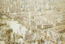Collections: Museum of London / Documenting the events that shaped London, this collection gathers an extraordinary selection of famous London landmarks sourced from the museum's extensive displays. From exquisite paintings, drawings and textiles to posters, photographs and maps.