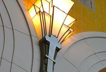 Art Deco sconces
