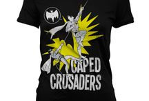 Batman - koszulki damskie / Oryginalne koszulki damskie z bohaterem DC Comics - Batmanem.