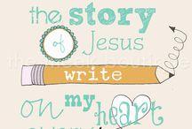 Bibelen. / Tro\Faith