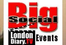 London Diary Events update / Daily events parties that you can attend on your own or with friends.