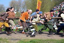 In naam van Oranje / Het 1 april feest wordt elk jaar in Brielle gehouden op 1 april want in  1572 namen de geuzen Brielle in bezit