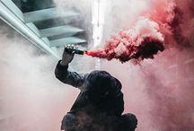 bombas de humo