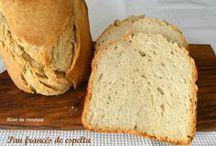 Máquina de pan recetas