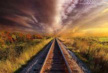 Railway and Engine