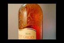 Sticla de vin gravata