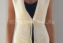 вязание спицами / одежда кардиналы
