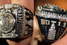 Stanley Cup rings / by HockeyShotStore
