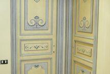 Porte decorate