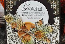Cards - Thanksgiving/Fall / by Carollee Washington