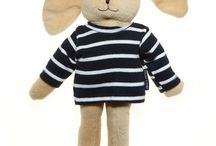 Red, Blue and White Stripes / Classic red, white and blue striped clothes for kid's.
