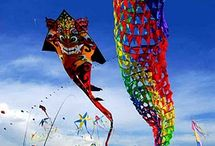 Catch the wind / I never tire of watching the grace of a flying kite / by Leah West