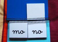libro móvil de silabas