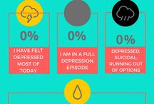 The Survivor Coach Infographics / Tools to help you with your mental health
