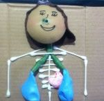 Human Body craft for kids / this page has a lot of Human Body craft for kids,parent and preschool teacher