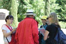 VISITA AL PARQUE DEL RETIRO EN MADRID- MAYO 2014 / Cursos de español. Visita al Parque del Retiro, en Madrid, con los alumnos y los profesores.