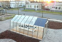 Greenhouse Solar Powered