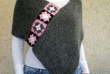 Haken: omslagdoeken en sjaals